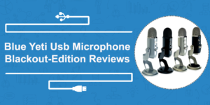 Blue Yeti USB microphone blackout edition reviews