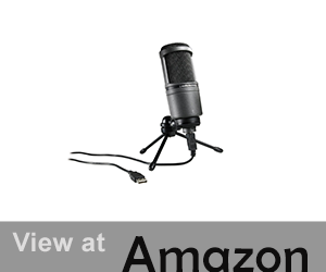 Audio-Technica AT2020 USB Microphone Reviews