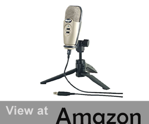 Cad U37 USB Studio Condenser Recording Microphone review