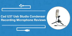 Cad U37 Usb Studio Condenser Recording Microphone Reviews