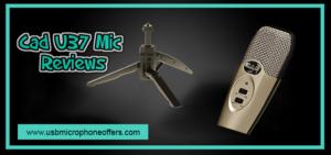 Cad U37 USB Studio Condenser Recording Microphone review