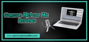 Samson Meteor Mic USB Studio Microphone review