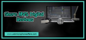 Shure MV5 digital Condenser USB Microphone review