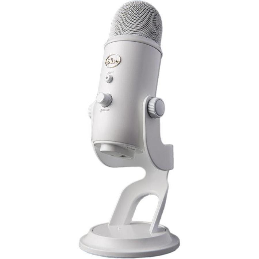 Silver Blue Yeti USB Microphone