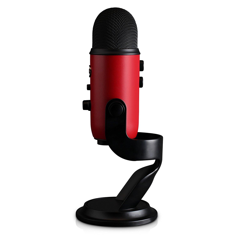 Blue Yeti USB Microphone Satin Red