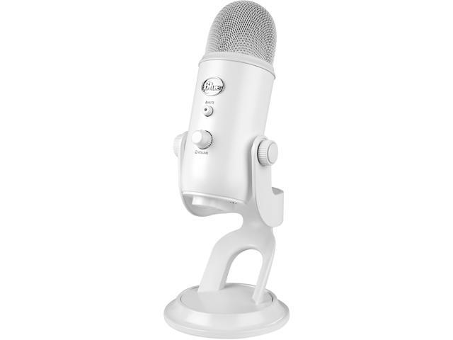 Whiteout Blue Yeti USB Microphone